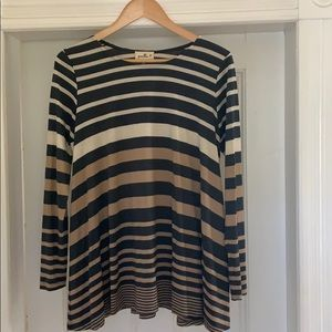 Anthropologie Puella striped top